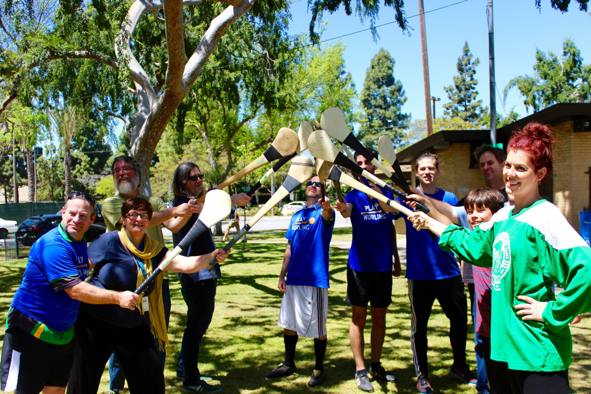 Irish Immersion weekend Play Hurling Los Angeles Lessons 14