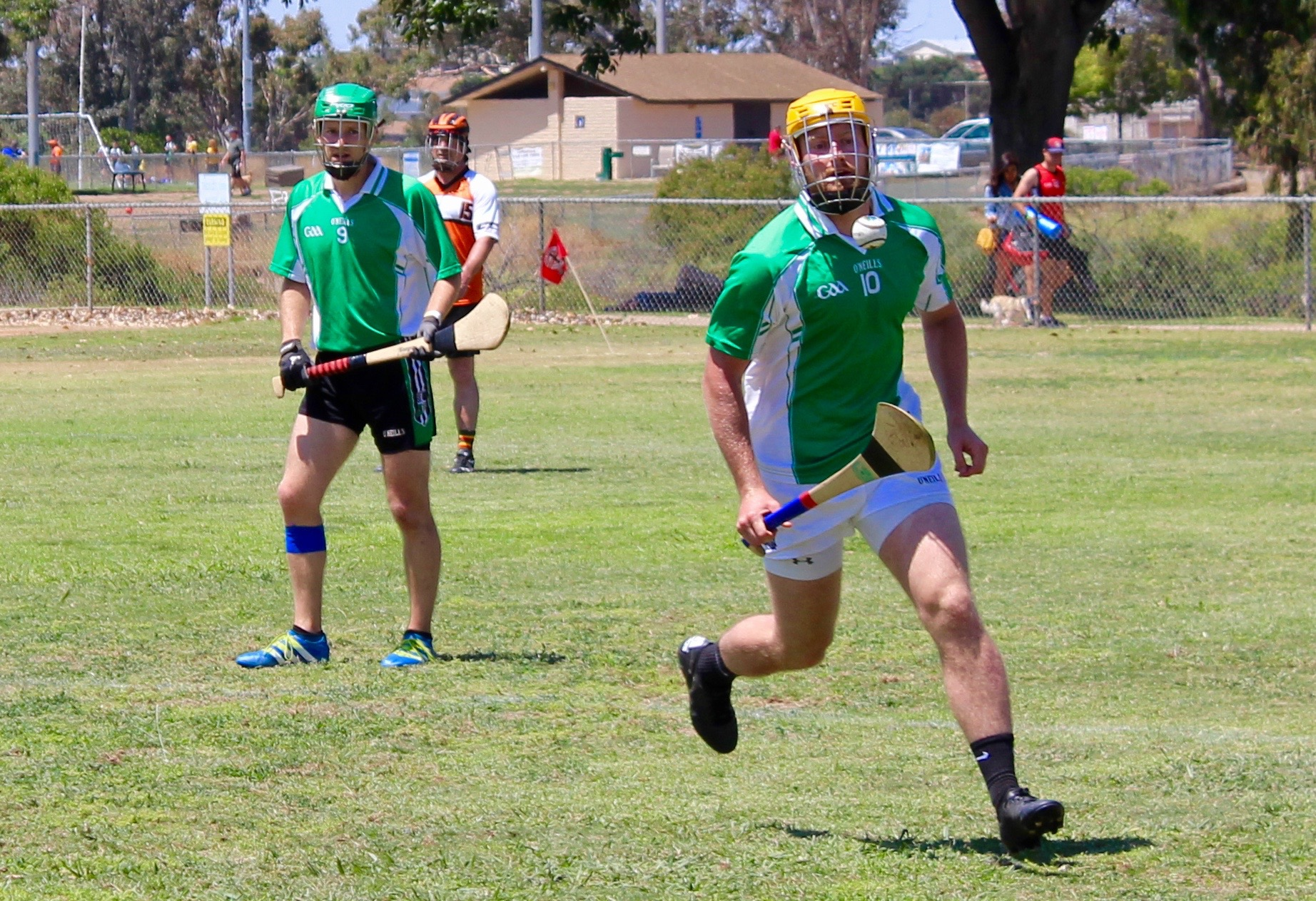 west coast sevens hurling oc wild geese vs regulators 9
