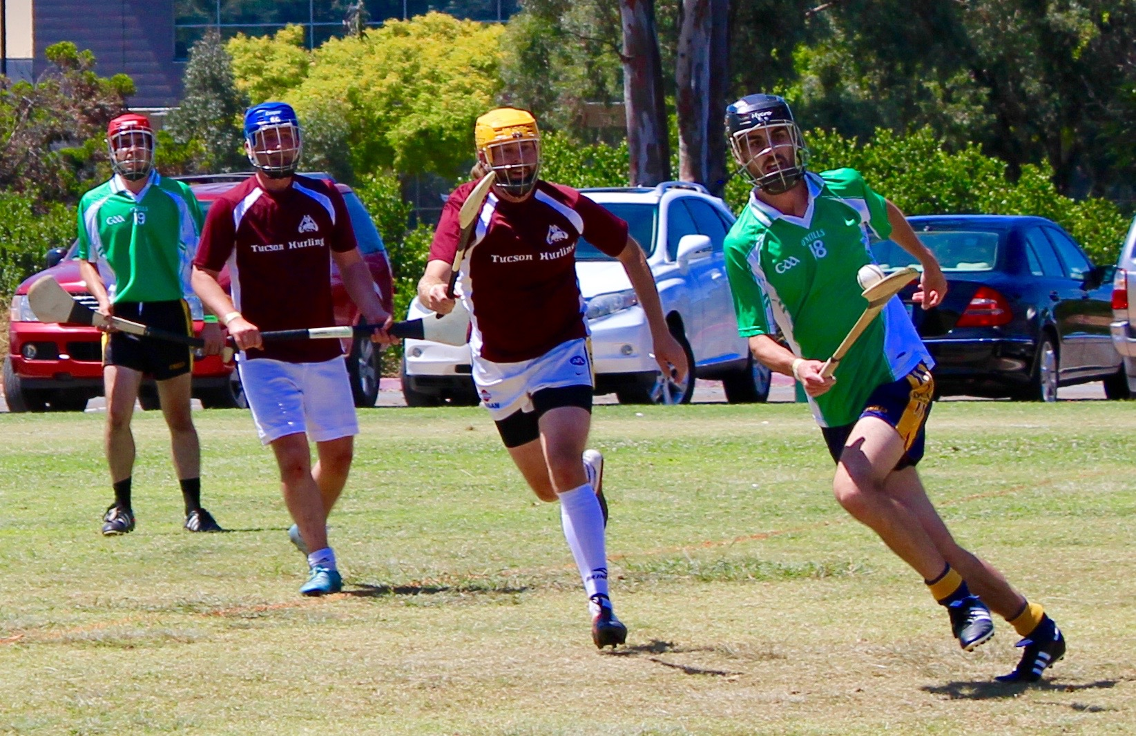west coast sevens hurling oc wild geese vs tucson 22