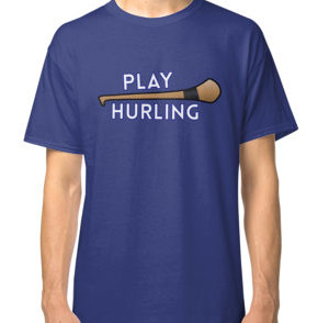 play hurling classic tee