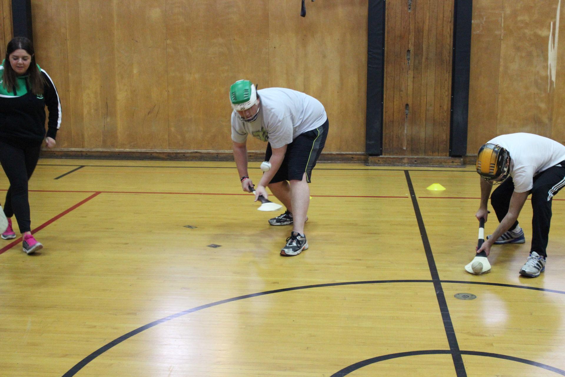 UofT Hurling Lessons roll lifting